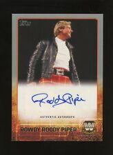 2015 Topps WWE Legends Rowdy Roddy Piper HOF AUTO