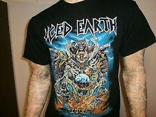 ICED EARTH CONCERT T SHIRT Glorious Burden World Tour 2004 Power Thrash Metal LG