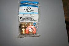 SharkBite 22441LFA Water Heater Installation Kit 3/4 Inch x FNPT,...