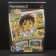 Go Diego Go: Safari Rescue - PlayStation 2 New Factory Y Fold Sealed