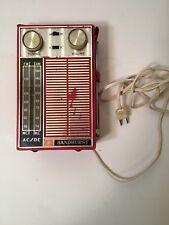 4c4a0a29ddd Vintage Sandhurst Transistor Radio Art Deco Working Lot C