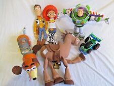 Toy Story Bundle: Woody, Jess, Buzz Lightyear, Bullseye, Slinky, RC Coche