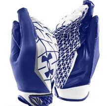 Under Armour UA WARP SPEED Adult Football Gloves Size MD 1230450-400 MSRP $45