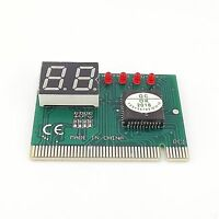 1x PCI Diagnostic 2-Digit Card PC Motherboard Post Tester Analyzer Tester Laptop
