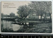 RARE! 1925, Brodnica, Strasburg wpr, Poland, Original Posted Postcard, Polska