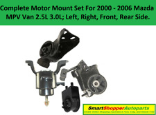 Engine Motor Mount for 2000 2001 2002 2003 - 2006 Mazda MPV Van 2.5L 3.0L - 4PCS