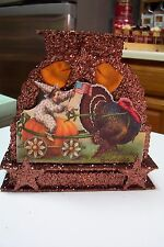 2008 Bethany Lowe by Casey Mack Thanksgiving Large Thanksgiving Greetings -2