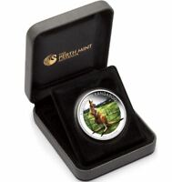 2014 KANGAROO WORLD MONEY FAIR BERLIN 1oz Silver Proof Coin