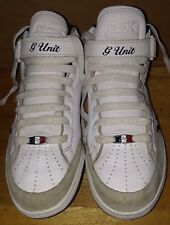 Original REEBOK G-UNIT G6 MID WHT/NAVY/RED size 11 vintage PADS!