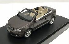 VOL 1Q1099300B8R (KYOSHO), 2011 VW EOS, METALLIC BROWN, DEALERSHIP MODEL, 1:43
