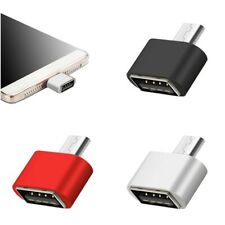 Micro USB To USB Adapter Mini OTG 5 Pin Converter For Android Samsung