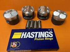 81MM Pistons CTR Integra B18 Civic B16 High Compression + Hastings Rings Set