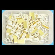 Grip Clips – 8mm. Rental Property Safe Cable Holder Permanent Adhesive