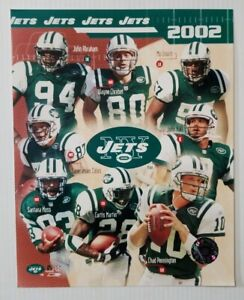New York Jets 2002 Team Collage NFL 8x10 Photo File Unsigned Glossy Action Pic
