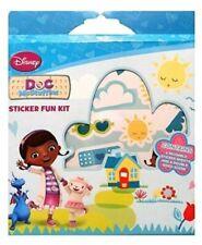 Disney Doc McStuffin Sticker Fun Kit- Kids Party Favor, Stocking Filler Gift