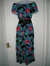 NWT LADIES 10 12 M/L MAXI DRESS SUMMER HOLIDAY BEACH CRUISE PARTY NIGHT OUT WORK