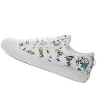 ADIDAS MENS Shoes Nizza Disney Sport Goofy - White, Scarlet & Black - FW0645