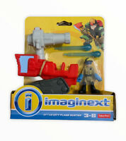 New IMAGINEXT City Flame Buster Action Figure Fisher Price Toy Fire Engine (9