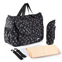 Baby Nappy Bag Mummy Bag Changing Bag Shoulder Handbag Diaper Bag Crossbody Bag