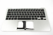 "Apple MacBook Air a1370 2011 11"" platina de teclado Keyboard sp Spain español"