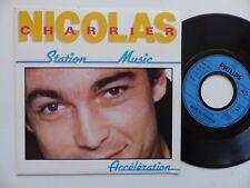 CHARLES NICOLAS Station music  818180 7 RRR