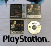 Tomb Raider 3 PS1 PS2 PS3 Sony Playstation 1 Complete UK PAL Platinum Edition