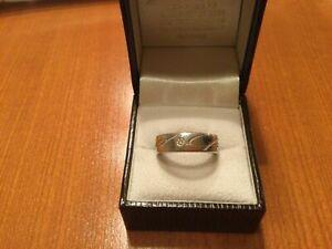 Chopard Chopardissimo Ring Weißgold 750 mit Diamant Gr. 53/54