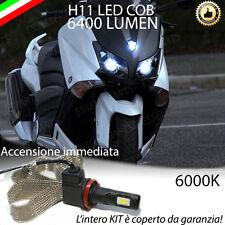 KIT A LED H11 6000K 3200 LUMEN YAMAHA T-MAX 530 ABBAGLIANTE ACCENSIONE RAPIDA