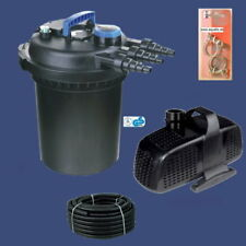 Teich-Druckfilter 15.000L mit UV- Und Aquaforte - Pumpe Komplettset