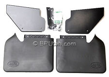 Genuine OEM Land Rover Discovery 2 II Front Mud Flap Guard Kit Mounting Hardware