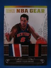 LANDRY FIELDS 2010-11 PLAYOFF NATIONAL TREASURES NBA GEAR DUAL PATCH #5/49