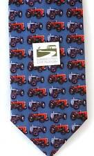 Tractotr Tie Massey Ferguson Tractor MF35 & TE20 Grey Ferg Silk Tie farming gift