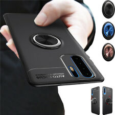 Shockproof Case Cover for Huawei P30 Pro Y7 Pro 2019 Magnetic Rotate Ring Stand