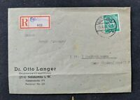 Vintage Slalzkotten Germany Registered Domestic Cover to Minden