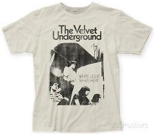 Velvet Underground- White Light/White Heat Apparel T-Shirt L - Vintage White