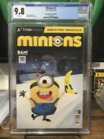 Minions 1 BAM/2nd & Charles Edition Cgc 9.8