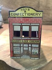SCARCE Vintage 1914 WEST BROS Toys Candy TIN LITHO CANDY CONTAINER INVAA-04