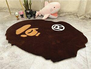 New Bape Ape Area Rugs Carpet Floor door Mat Decor Large Heavy Living Room big