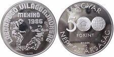 UNGARN KM 657   500 Forint WM Mexico 1986 von 1988 in PP  1502514