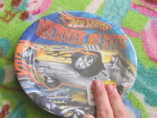 "NEW Hot Wheels Nerves of Steel 7"" party plates car birthday paper plates package"