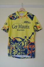 RETRO VERMARC MULTI COLOURED CYCLING JERSEY MENS CHEST SIZE 42""