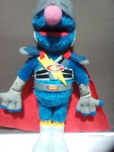 Flying Super Grover-Sesame Street Talking Toy
