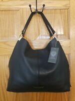 AUTHENTIC VINCE CAMUTO LEATHER  RAYNA BLACK TOTE NEW NWT WOMENS MSRP $248