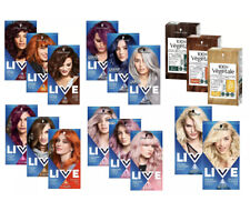 Schwarzkopf Live intense colours Bright and Pastel | Permanent Hair Dye
