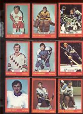 1973/1974 O-Pee-Chee Card Lot Starter Set 167 Different VGEX/EXMT