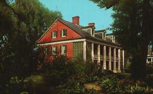 Vintage Postcard House The Shadows New Iberia Louisiana LA