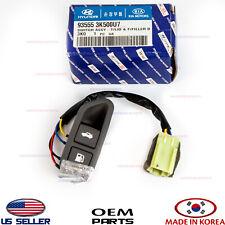 Trunk Lid Switch Fuel Door Opener Release Button Gray GENUINE SONATA 2009-2010