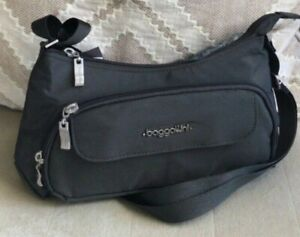 NWT Baggallini Everyday Crossbody Bag Wallet Charcoal Gray $69.95 MSRP
