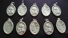 10x St Joseph charms Catholic Saint charm Vatican City medal medallion Italy