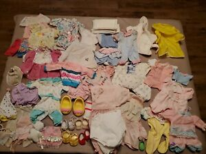 Vintage Doll Clothes And Shoes Assortment Some Cabbage Patch
